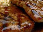 Côtelettes porc vinaigre balsamique