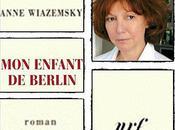enfant Berlin Anne Wiazemsky