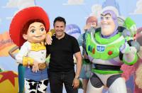 José Garcia, Jessie et Buzz à l'Avant-première de Toy Story 3 à Disneyland Paris