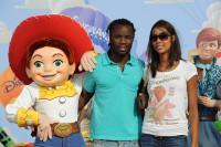 Peguy Luyindula à l'Avant-première de Toy Story 3 à Disneyland Paris