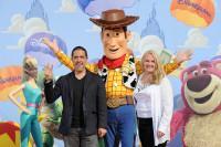 Darla K.Anderson, la productrice et Lee Unkrich, le réalisateur à l'Avant-première de Toy Story 3 à Disneyland Paris
