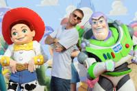 Matt Pokora, Jessie et Buzz à l'Avant-première de Toy Story 3 à Disneyland Paris