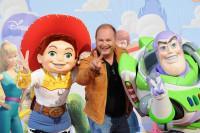 Cauet à l'Avant-première de Toy Story 3 à Disneyland Paris