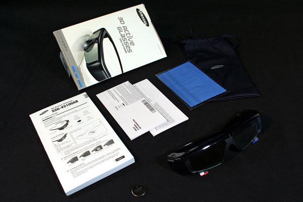 [Arrivage] Lunettes 3D Samsung (SSG-2100AR)