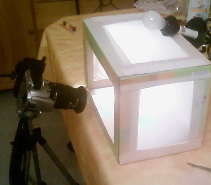 comment fabriquer une boite a lumiere. Black Bedroom Furniture Sets. Home Design Ideas