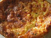 Quiche sans pâte crevettes, saumon chèvre frais