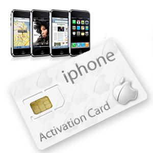 Acheter votre Carte SIM pour activer nimporte quel iPhone: iTunes Activation Card  9,99