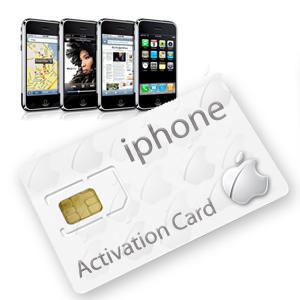 Acheter votre Carte SIM pour activer n'importe quel iPhone: iTunes Activation Card à 9,99€