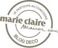 Votez pour mon blog sur Concours Marie Claire Maison decodesign / Décoration