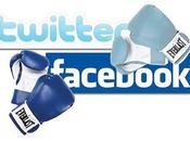 différence entre Twitter Facebook
