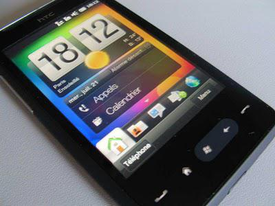 Test du HTC HD Mini