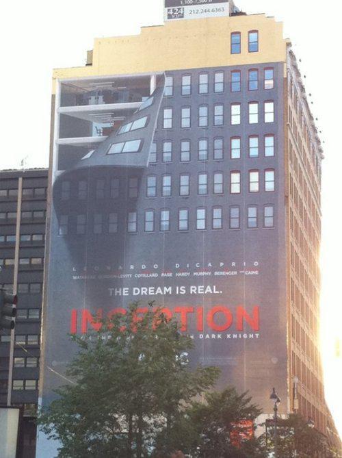Inception, le film aux milles affiches !
