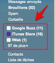 filtre gmail 6 Gmail: deux filtres qui allégeront votre boîte de réception [Astuce]