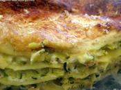 Lasagnes courgettes brocciu