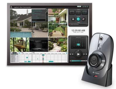 logitech alert master system syst me de vid o surveillance paperblog. Black Bedroom Furniture Sets. Home Design Ideas