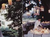Luminaires mariage: éclairer décorer l'extèrieur
