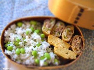 recette cuisson du riz japonais ou comment cuire du riz pour vos bentos paperblog. Black Bedroom Furniture Sets. Home Design Ideas