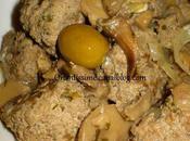 Tajine kefta champignons olives vertes