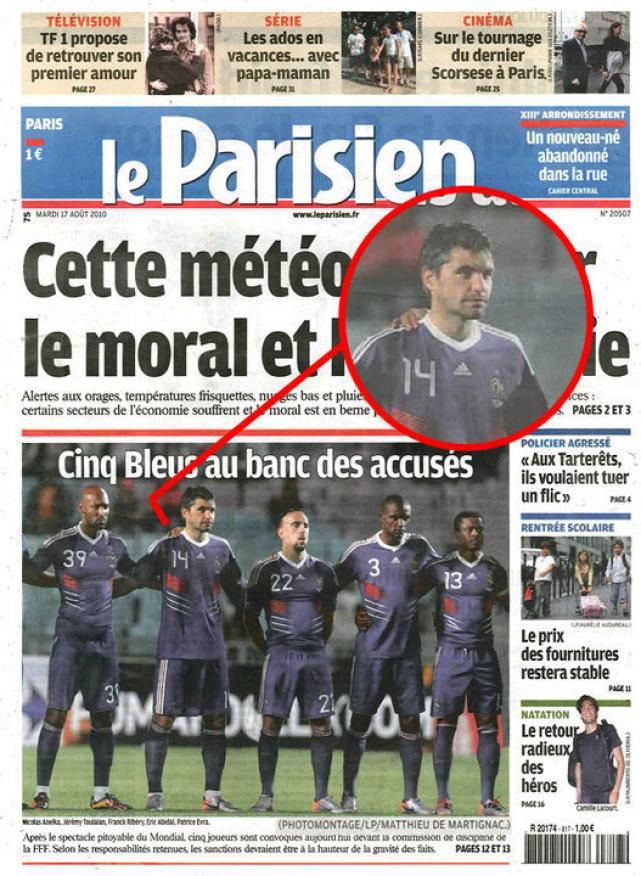 La main fantome en une du journal le parisien d couvrir - Le journal de la une ...