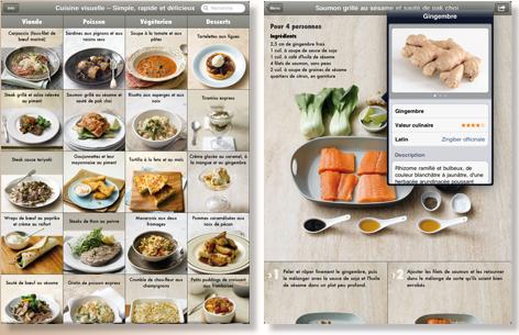 Cuisine visuelle simple rapide et d licieux sur ipad paperblog - Cuisine simple et rapide ...
