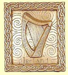Symbolique des instruments de musique Harpe-comme-symbole-officiel-lirlande-L-1