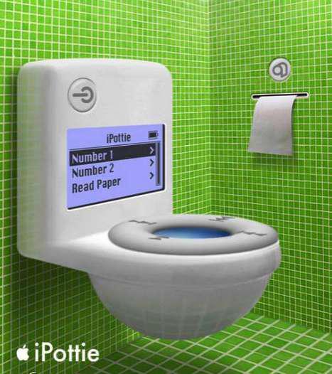 iPottie – Les toilettes Apple IPOD