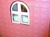 Maison poupée 40cm) carton: salle-de-bain