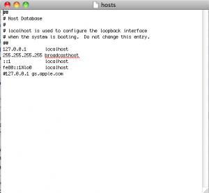 Tuto: Modifier fichier HOSTS et Restaurer votre iPhone grâce à votre ECID sauvegardé
