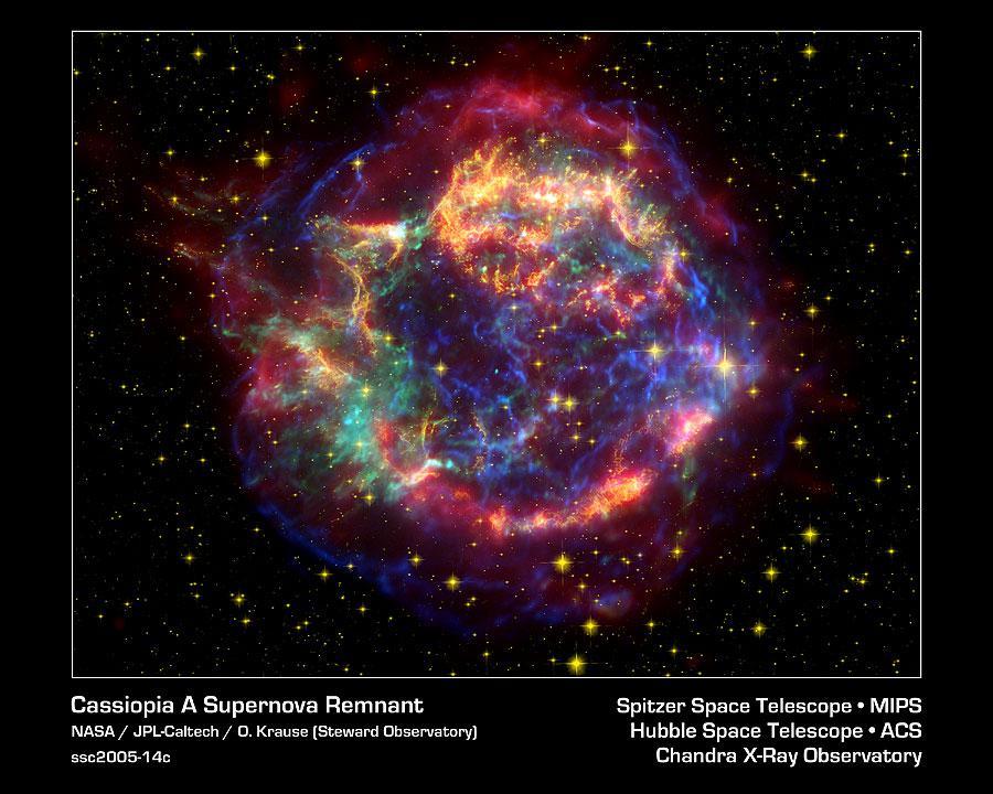 Supernova cassiopée A