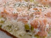 Flan saumon poireau Jujube
