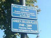 Hoenheim lieu mémoire d'Adrien Zeller