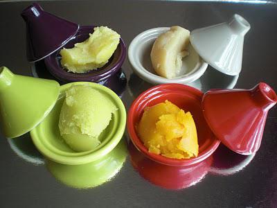 beurre de prune de pistache d 39 urucum et beurre coco vanille paperblog. Black Bedroom Furniture Sets. Home Design Ideas