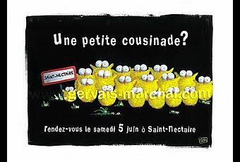 Invitation poussin e paperblog - Comment organiser une cousinade ...