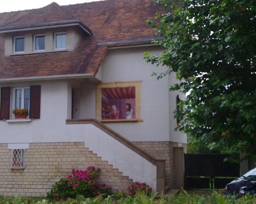Œil des belles peintures murales des moins belles et des médiocres