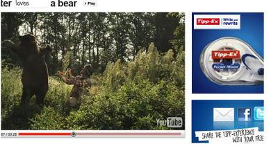 viral marketing shoot the bear tipp ex Don't shoot the bear the hunter reaches out of the video player for a tipp-ex whiteout pocket mouse and marketing world—a viral marketing.