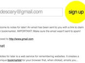 Recevez mail liens pages vous appréciez