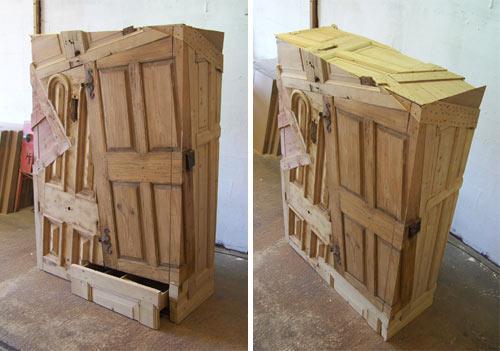 Meuble porte par chris ruhe paperblog for Meuble rangement une porte