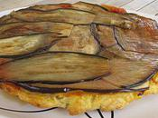 Tatin saumon aubergines mozzarella