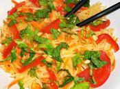 Salade papaye verte croquante fraîche!