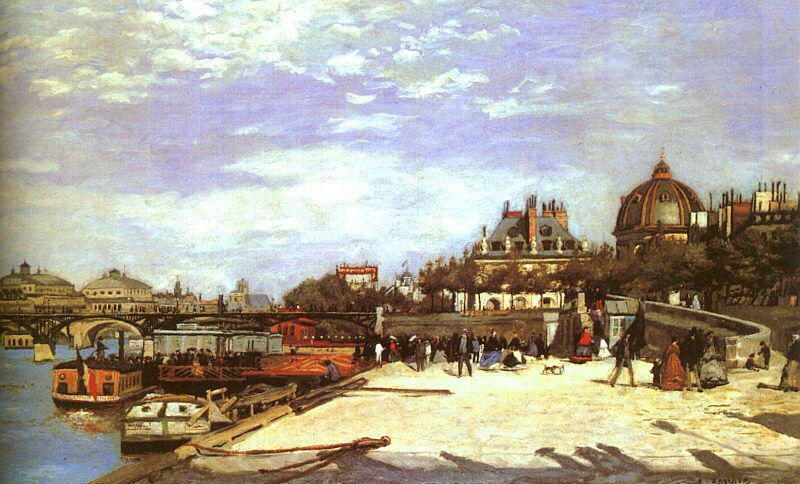 Paris des peintres : Le pont des Arts d'Auguste Renoir - À Lire