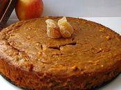 Gâteau pain d'épices pommes râpées pépites gingembre