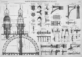 Construction de la tour eiffel voir for Elementos arquitectonicos pdf