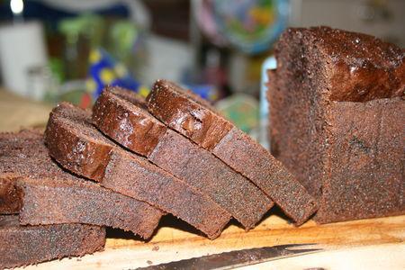 Cake carr ment chocolat pierre herm simplifi inside for Cake au chocolat pierre herme