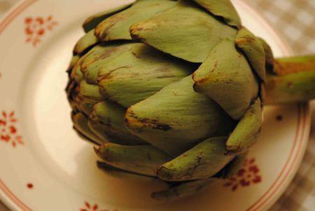 Artichaut aux petits champignons d couvrir - Comment cuisiner l artichaut ...