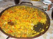 Paella légumes goût couleurs.....