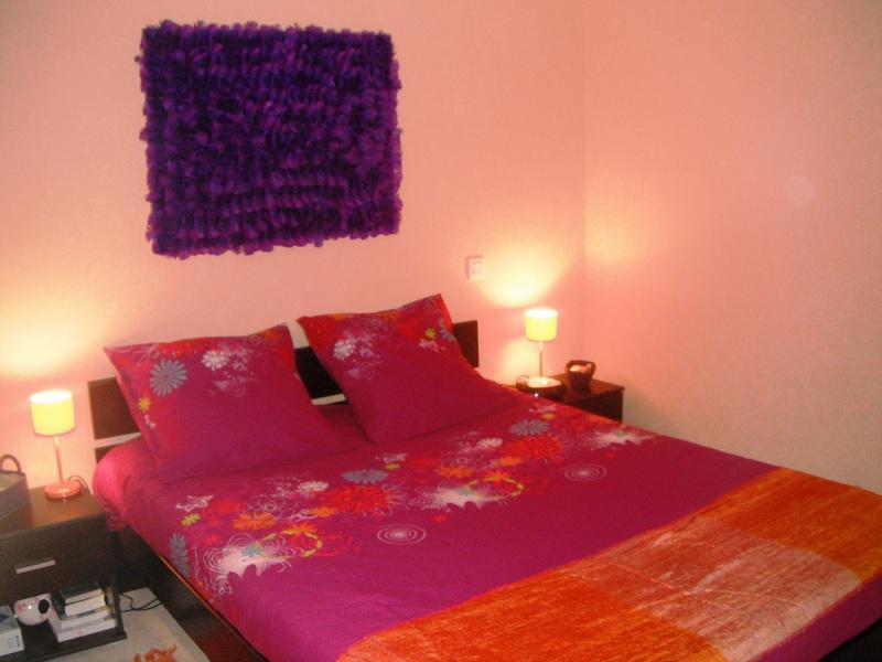 Chambre bebe orange et rose ~ Design de maison