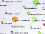 cartographie l'influence d'un blogueur