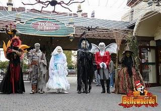 Parcs d'attractions et Halloween !