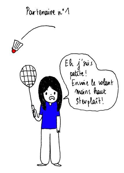 """Résultat de recherche d'images pour """"badminton humour dessin"""""""