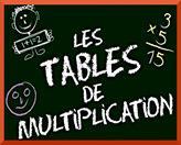 Apprendre facilement les tables de multiplication for Methode facile pour apprendre les multiplications